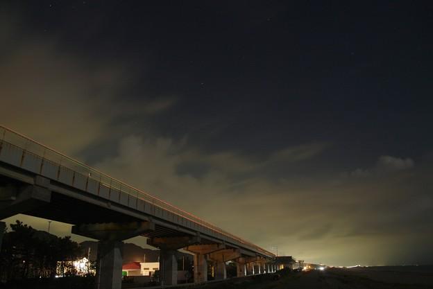 月夜の遠州灘(東)