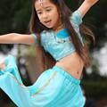 写真: 少女ダンサー