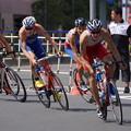 写真: 自転車レース