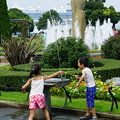 写真: 山下公園の噴水