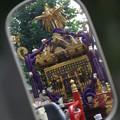 Photos: バックミーラーの神輿