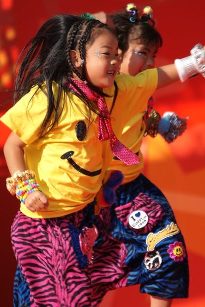 写真: 子供ダンサー