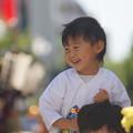 写真: 祭り見物