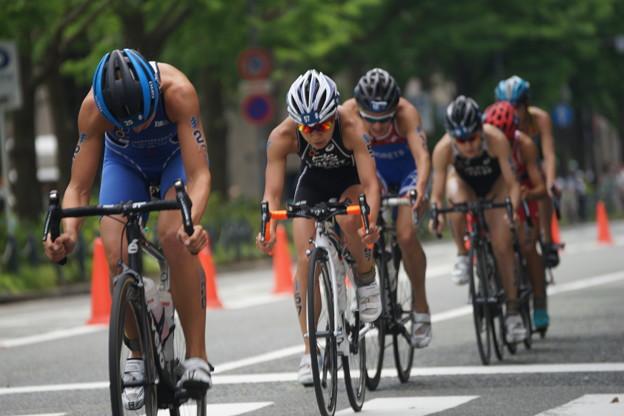 写真: 自転車競技