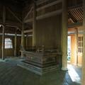 旧東慶寺仏殿室内