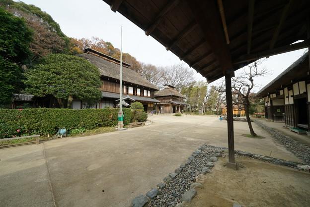 冬の横溝屋敷