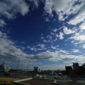 青いと空と白い雲