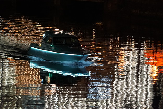 Photos: 夜の船