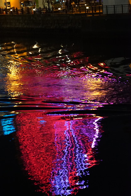 海面の彩り