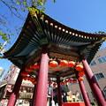 写真: 中華街の休憩所