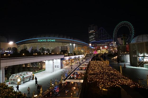 夜の東京ドーム