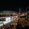 写真: 夜の東京ドーム