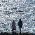 Photos: 海見つめる二人