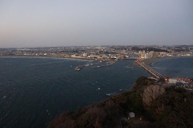 江の島からの景観