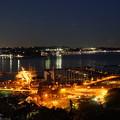 ヨットハーバー夜景