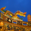 関帝廟の屋根飾り
