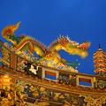 Photos: 関帝廟の屋根飾り