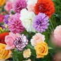 花のディスプレイ
