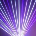 Photos: レーザー光線