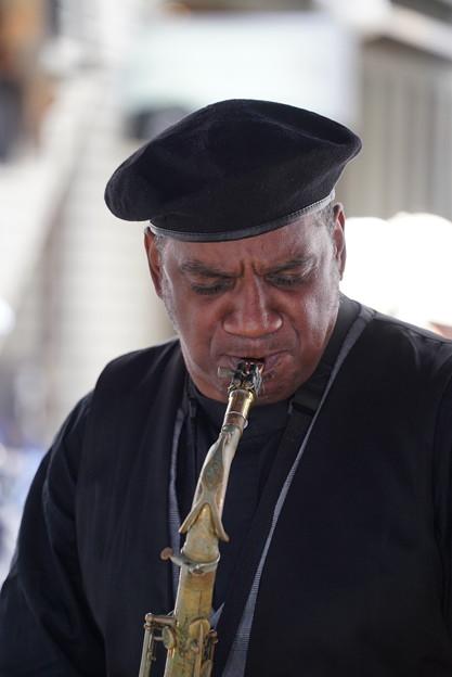 Photos: ジャズ演奏者