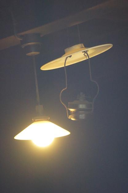 古民家の灯り