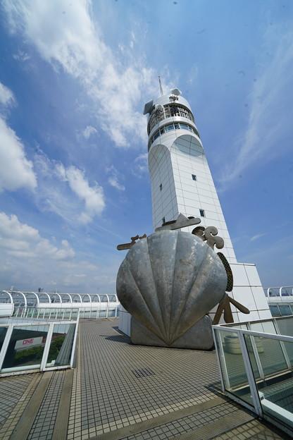 貝とタワー