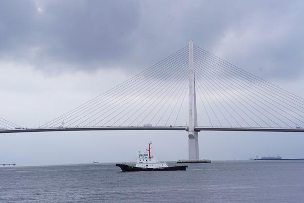 夏の鶴見つばさ橋
