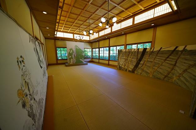 三渓園の日本画