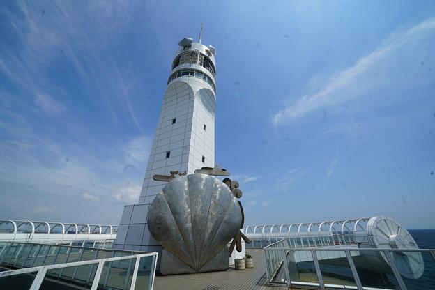 夏のシンボルタワー
