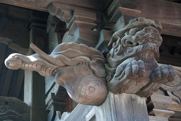 山門の彫り物