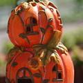ハロウィンの南瓜
