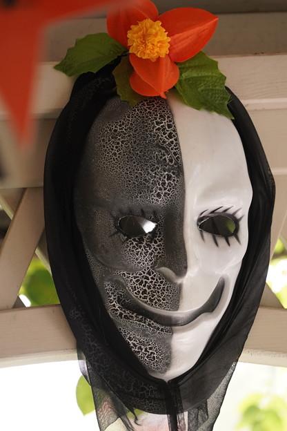 ハロウィン仮面