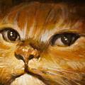 Photos: 油絵の猫