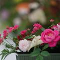 Photos: 薔薇の生け花