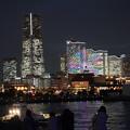 Photos: 大桟橋からの夜景