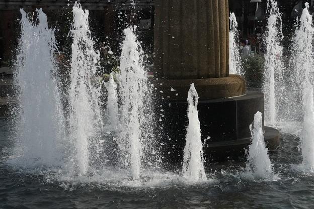 山下公園の噴水