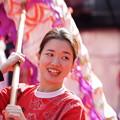 Photos: 龍担ぐ女