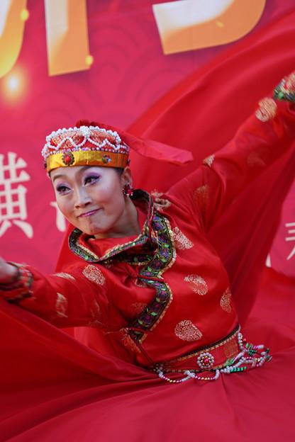 モンゴルの踊り