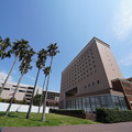 Photos: 椰子とホテル