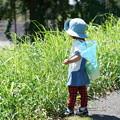 Photos: 虫取り網持つ子供