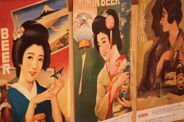 キリンビールポスター