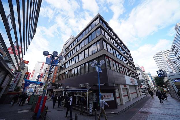 横浜駅西口の街並み
