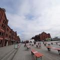 初冬の赤レンガ倉庫
