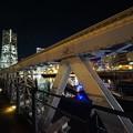 Photos: 鉄橋とランドマーク