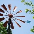 フランス山の風車