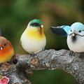Photos: 木製の鳥