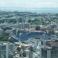 Photos: 横浜球場方面