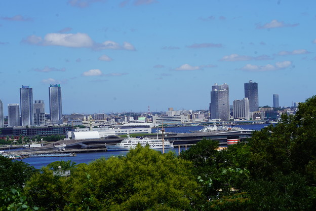 港の見える丘公園からの景観