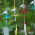 Photos: ガラスの風鈴