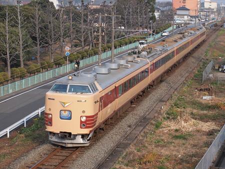 485系特急にちりん (鶴崎~高城)